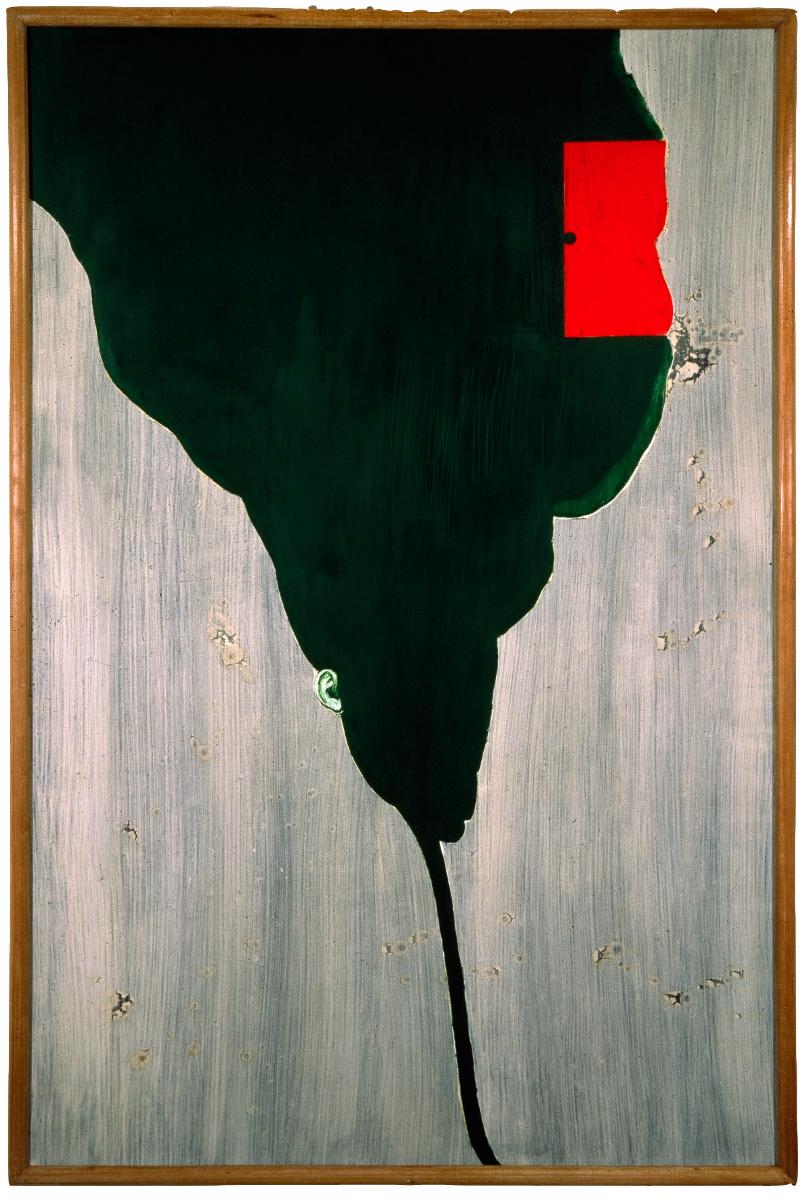 <i>Ore vellutate</i>, 1990. Olio e tempera su tela, 172,5 x 113 cm