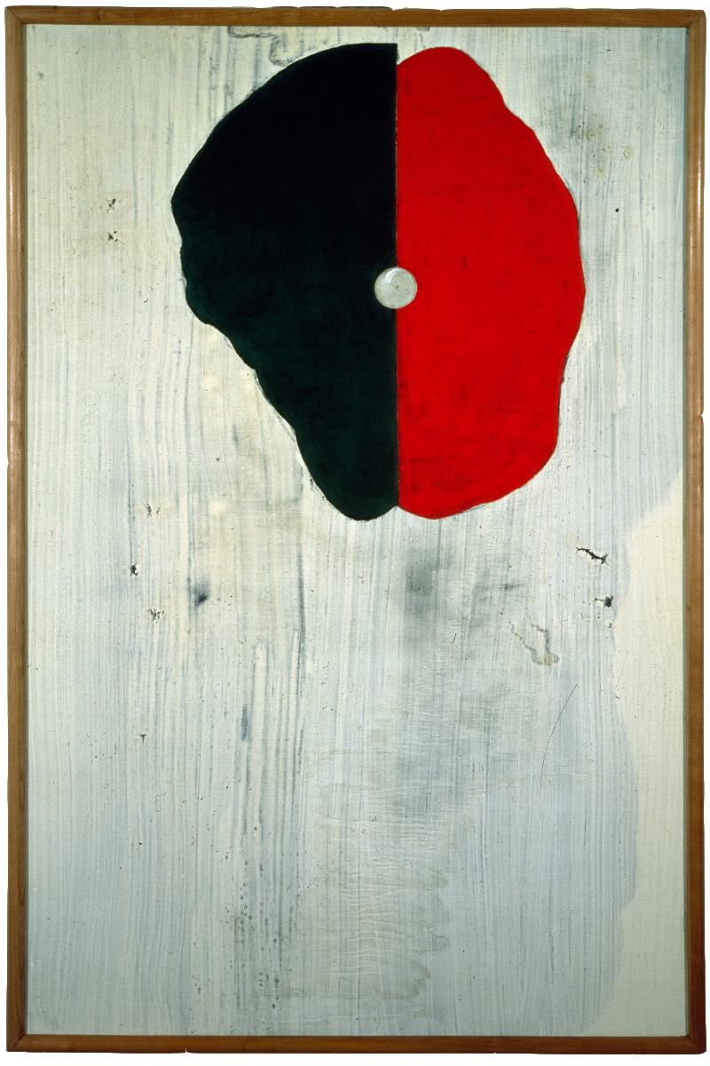 <i>Haschisch</i>, 1990. Olio e tempera su tela, 176 x 117 cm