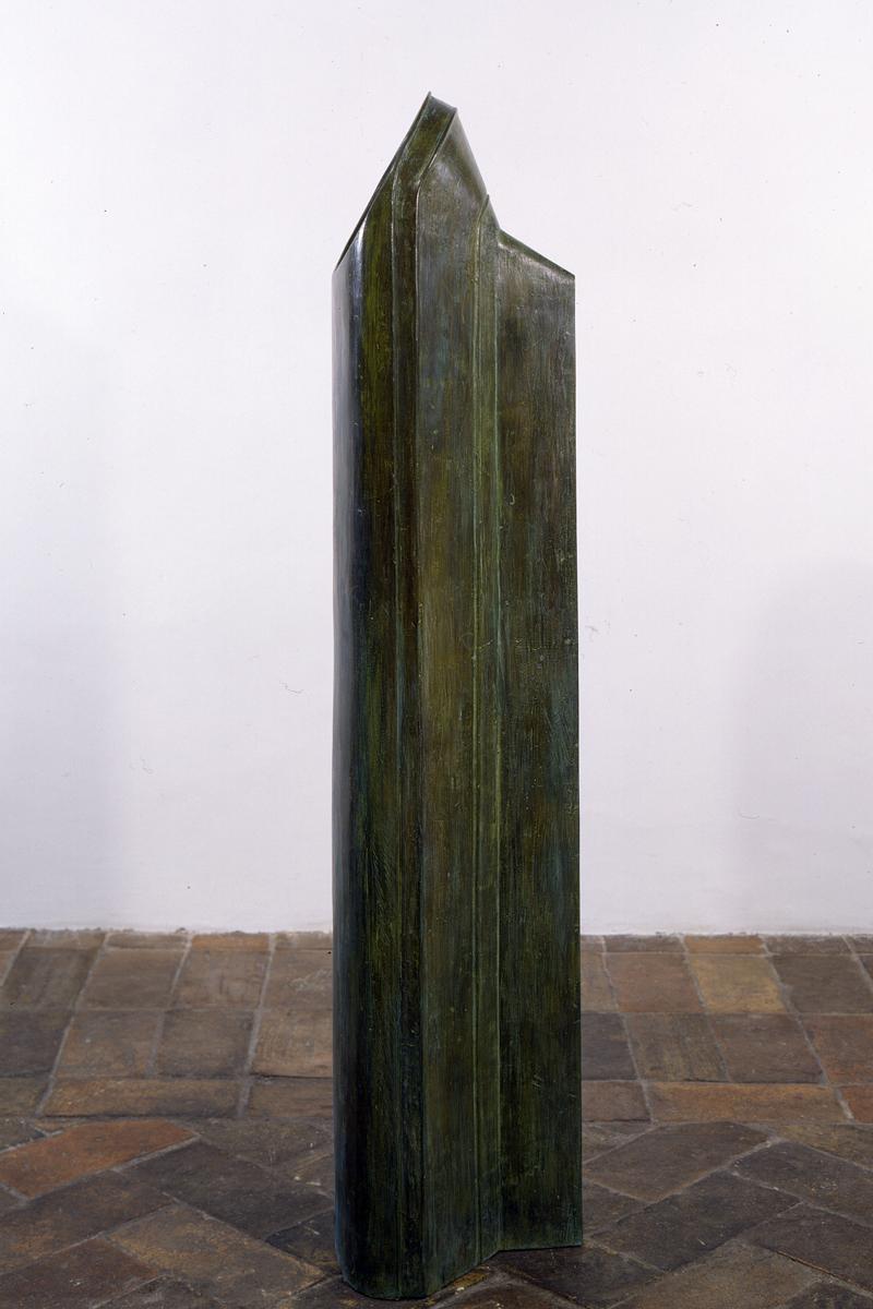<i>Senza titolo</i>, 1990. Bronzo, 148 x 33 x 28 cm
