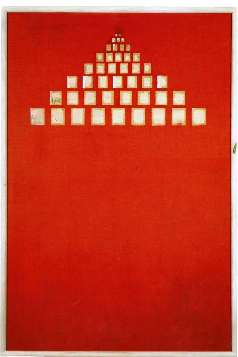 <i>Femmine</i>, 1990. Olio su tela, 176 x 117 cm