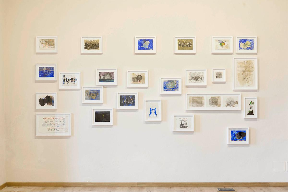 <i>Piccoli pensieri</i>, 2014-2015. Mixed media, various dimensions. Ph. Ottavio Celestino