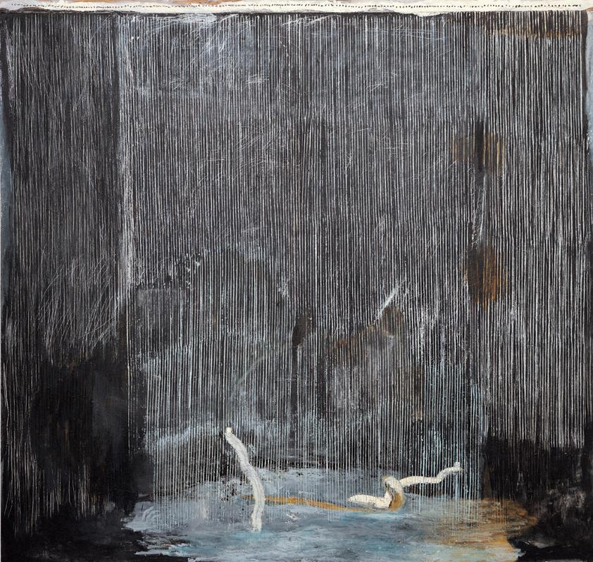 <i>Dieci chili</i>, 1985. Olio su tela, 266 x 278 cm