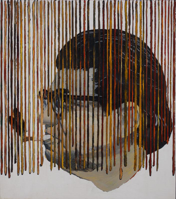 <i>Morton Feldman</i>, 2008. Olio e acrilico su tavola, 53 x 47 cm