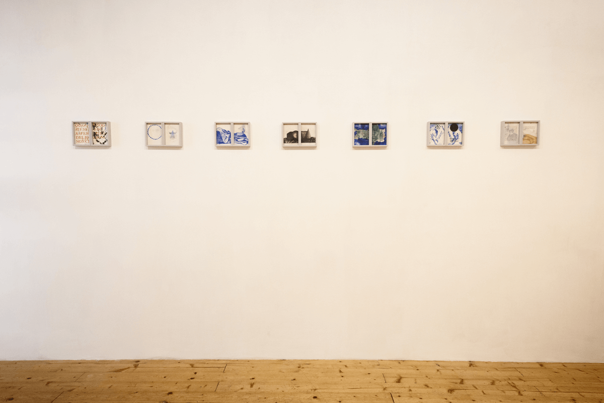 Exhibition view of <i>Il quinto quarto</i>, 2015. Ph. Ottavio Celestino