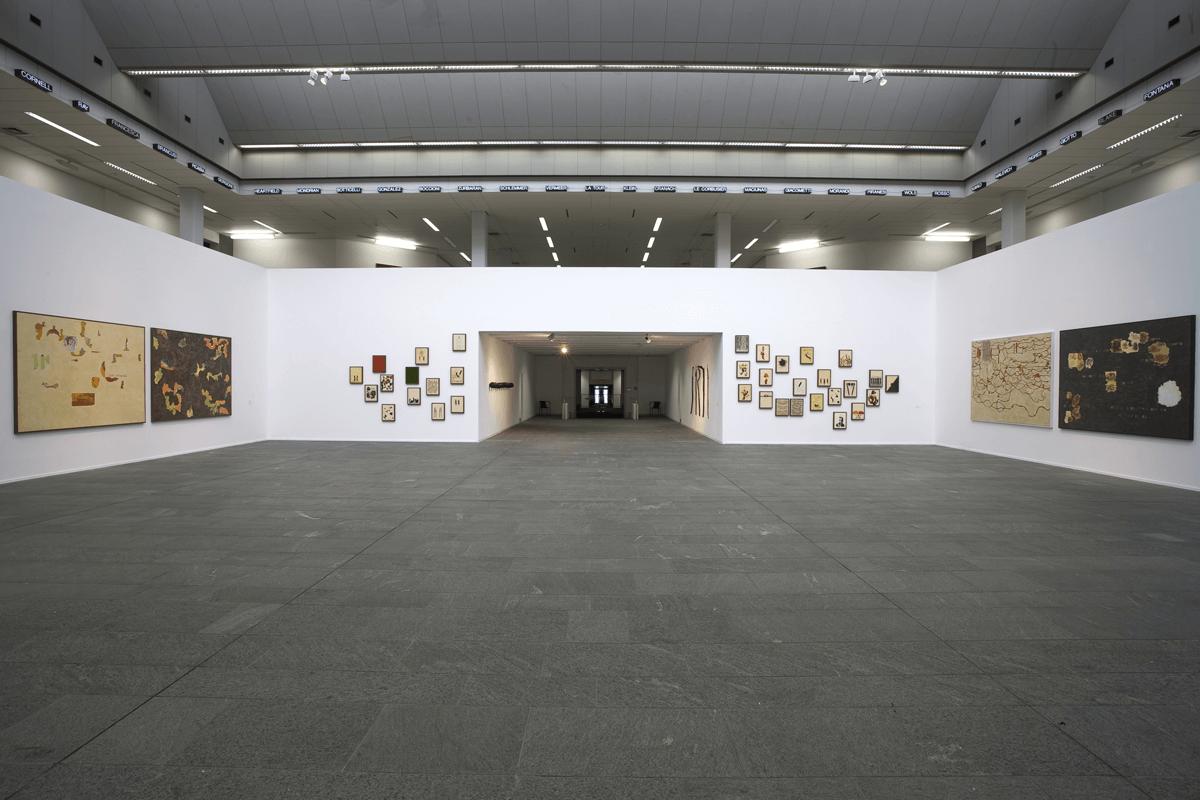 Veduta della mostra Giuseppe Gallo - All in, Kunsthalle Mannheim.