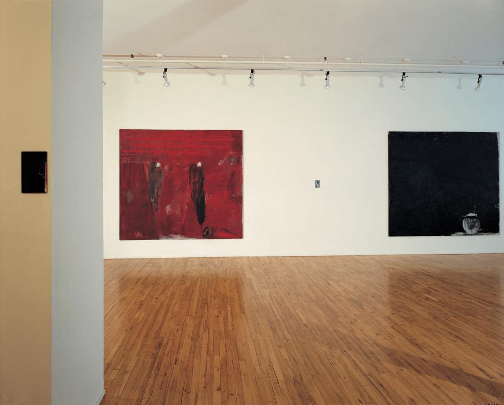 Veduta della mostra Giuseppe Gallo, Gian Enzo Sperone, Roma, 1986. Foto di Dorothy Zeidman.