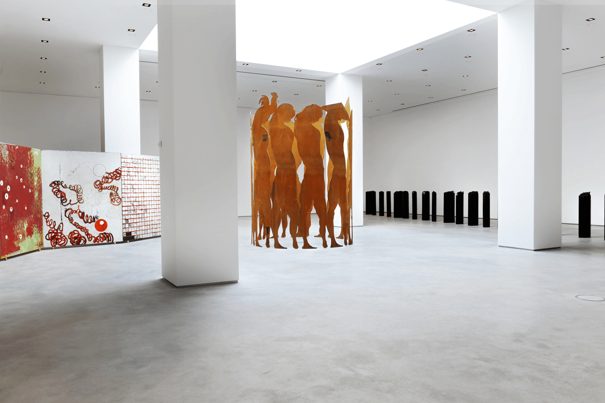 Exhibition view of <i>Giuseppe Gallo. La leggerezza dell'incoscienza</i>, Centro Italiano per l'Arte Contemporanea, Foligno