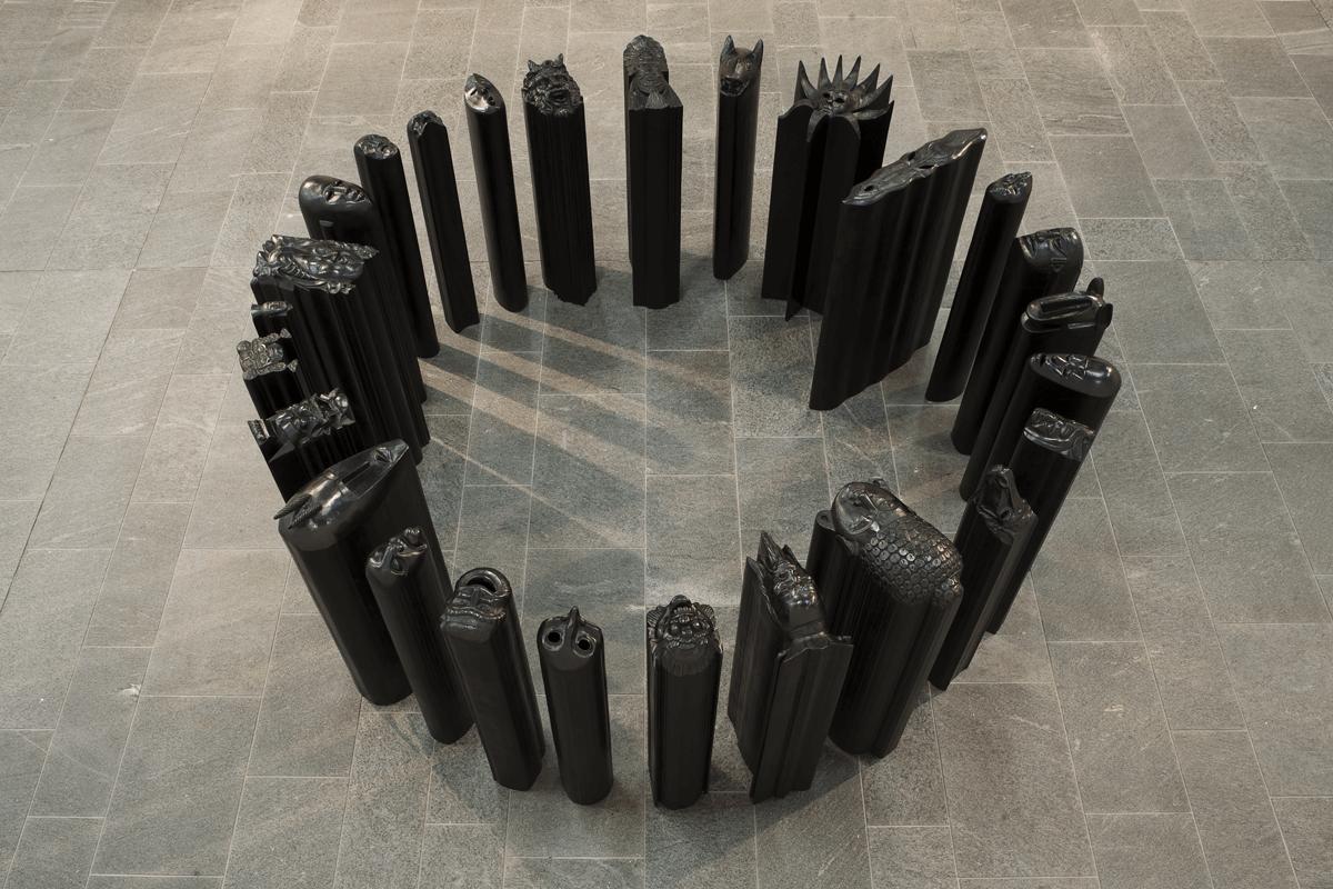Prismi, 2007. Bronzo, h. 127. Kunsthalle Mannheim. Foto Cem Yucetas.