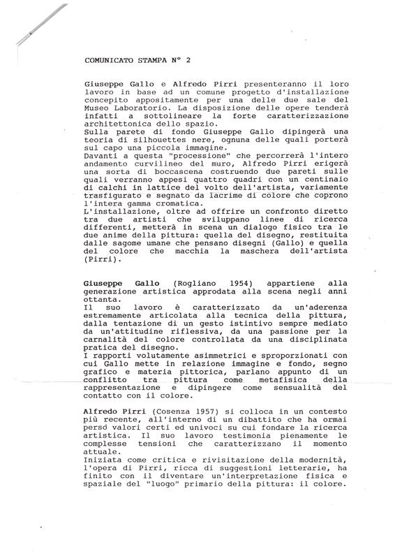 Comunicato stampa Sapienza