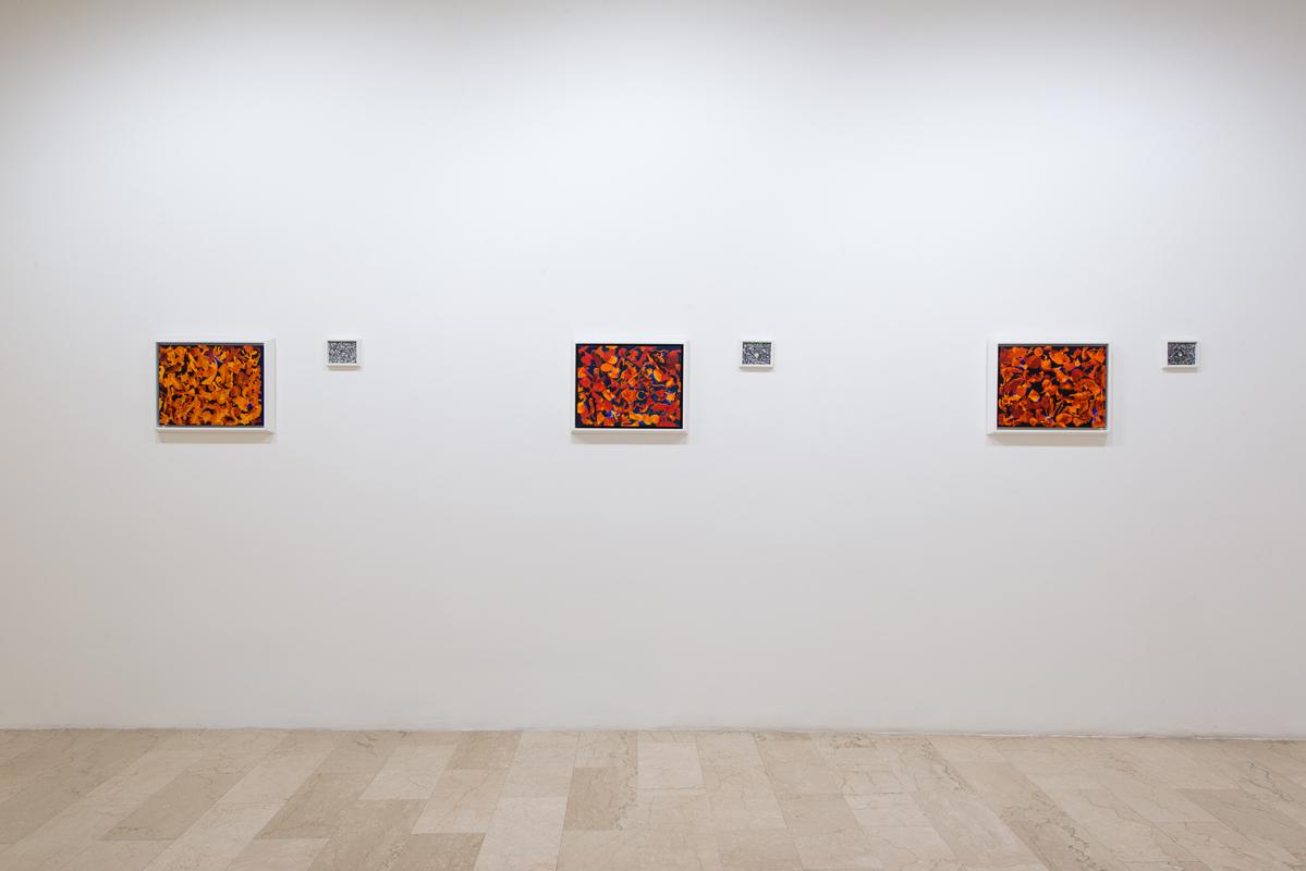Installation view. La caverna di Kant, Galleria Mazzoli, Modena. Ph. Rolando Paolo Guerzoni.